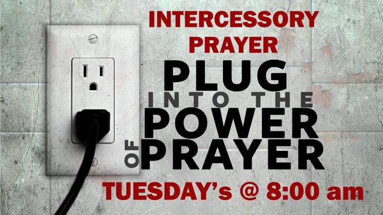Tuesday Intercessory Prayer