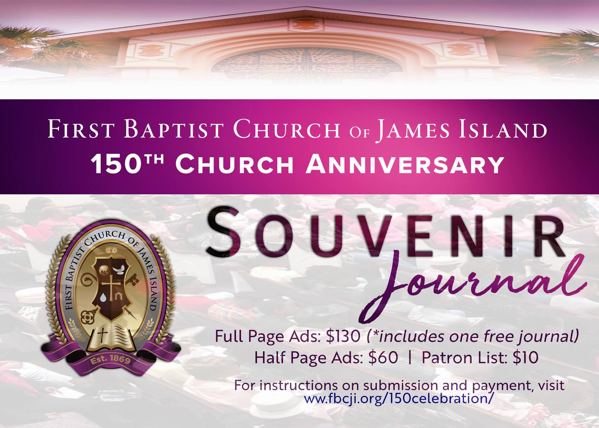150th Anniversary Ad