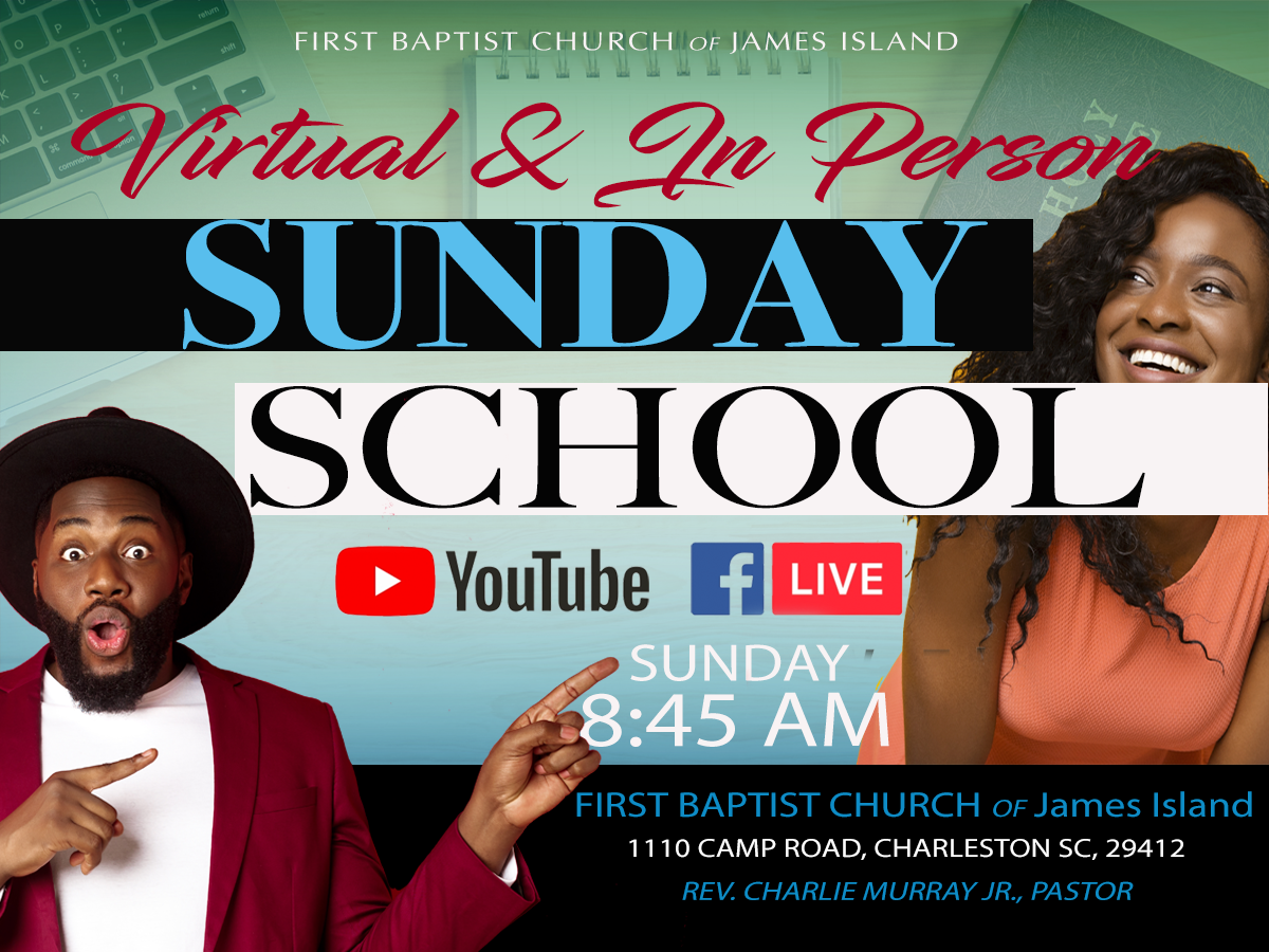 Sunday School Virtual and In Person