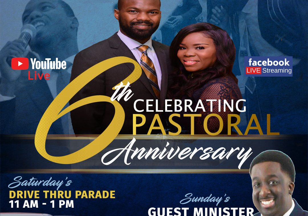 Pastor Charlie Murray & First Lady Tycely Murray Anniversary